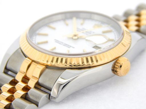 Rolex Two-Tone Datejust 116233 White -7