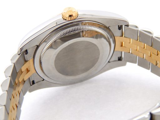 Rolex Two-Tone Datejust 116233 Gray, Slate Arabic-3