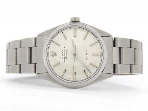 Rolex Stainless Steel Air-King 5500 Silver-6