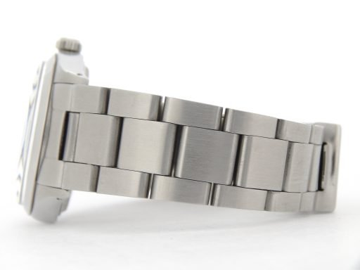 Rolex Stainless Steel Air-King 5500 Blue-5