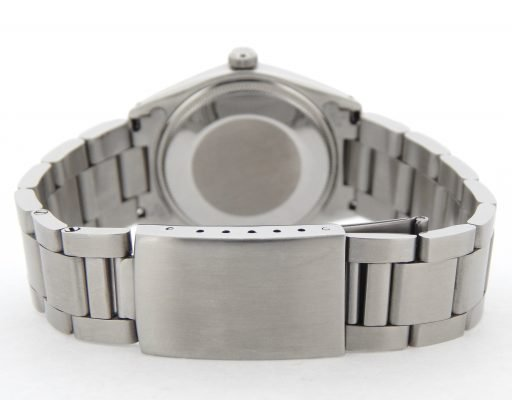 Rolex Stainless Steel Air-King 5500 Blue-3