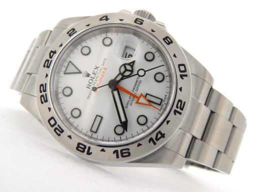 Rolex Stainless Steel Explorer II 216570 White -10