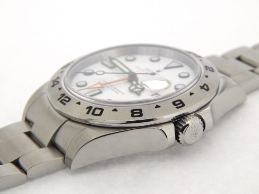 Rolex Stainless Steel Explorer II 216570 White -8