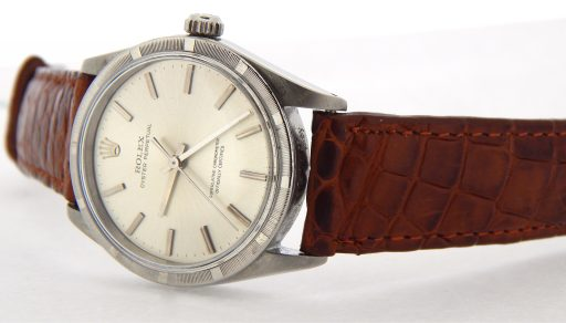 Rolex Stainless Steel Oyster Perpetual 1007 Silver -7