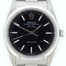 Mens Rolex Stainless Steel Air-King Black  14000M (SKU K967703CMT)