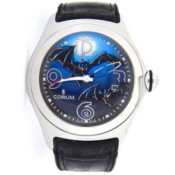Mens Corum Stainless Steel Limited Edition Bat Bubble Watch (SKU 08215020NMT)