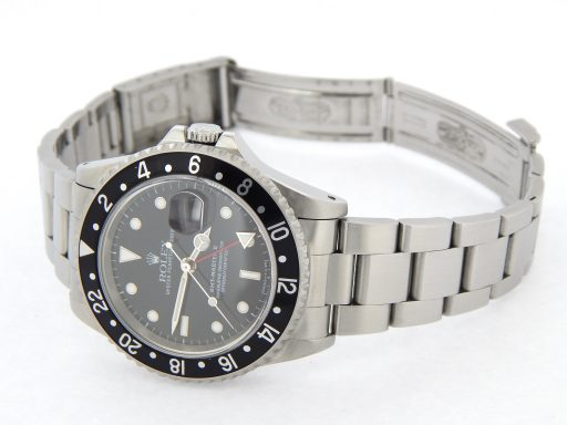 Rolex Stainless Steel GMT Master II 16710 Black -2