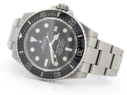 Rolex Stainless Steel Sea-Dweller 116600 Ceramic -11