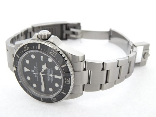 Rolex Stainless Steel Sea-Dweller 116600 Ceramic -8