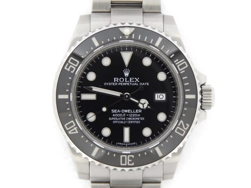 Rolex Stainless Steel Sea-Dweller 116600 Ceramic -1