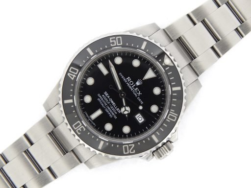 Rolex Stainless Steel Sea-Dweller 116600 Ceramic -9