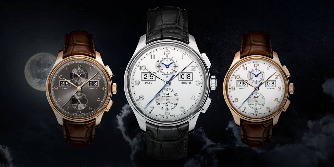 "Post image for Check Out This IWC Portugieser Perpetual Calendar Digital Date-Month ""75th Anniversary"" Edition"