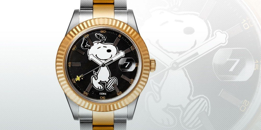 Post image for Limited Edition Customized Snoopy Rolex