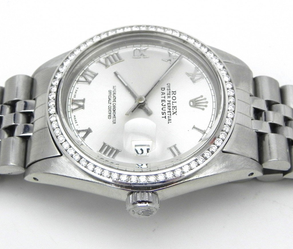 Aftermarket Parts & Resale - Channel-Set-Diamond-Bezel