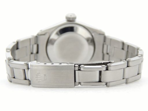 Rolex Stainless Steel Oyster Perpetual 6618 Silver -3