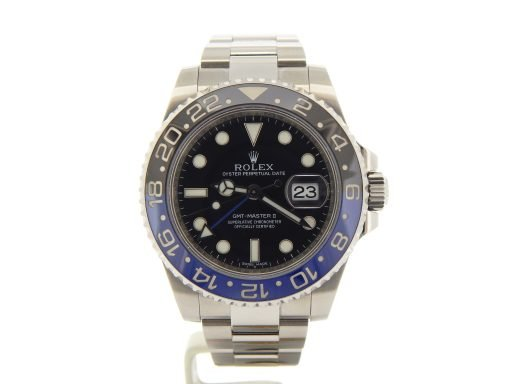 Rolex Stainless Steel GMT Master II 116710 Black & Blue Batman -7