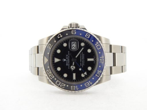 Rolex Stainless Steel GMT Master II 116710 Black & Blue Batman -6