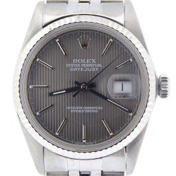 Mens Rolex Stainless Steel Datejust Slate  16014