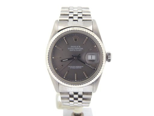 Rolex Stainless Steel Datejust 16014 Slate -9