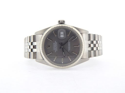 Rolex Stainless Steel Datejust 16014 Slate -7