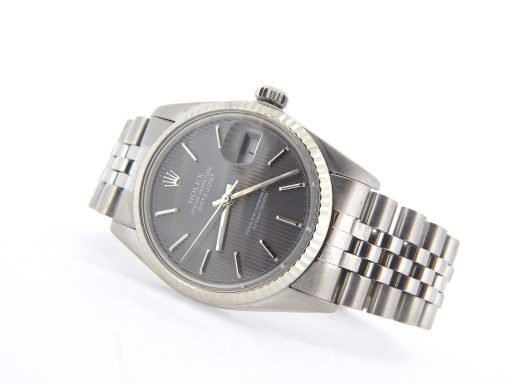 Rolex Stainless Steel Datejust 16014 Slate -8