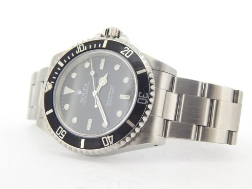Rolex Stainless Steel Submariner 14060M Black -8