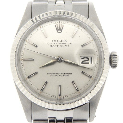 Rolex Stainless Steel Datejust 1601 Silver -1
