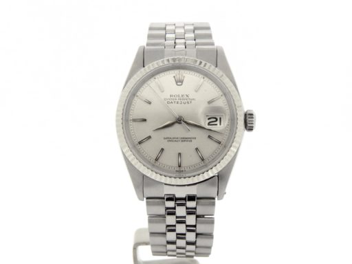 Rolex Stainless Steel Datejust 1601 Silver -8