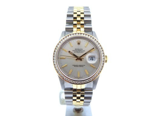 Rolex Two-Tone Datejust 16233 Diamond-8