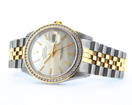 Rolex Two-Tone Datejust 16233 Diamond-7