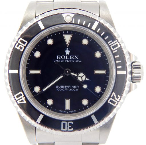 Rolex Stainless Steel Submariner 14060M Black -1