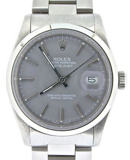 Rolex Stainless Steel Datejust 16030 Gray -1