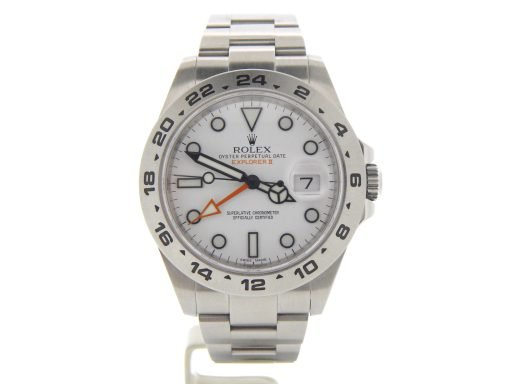 Rolex Stainless Steel Explorer II 216570 White -9