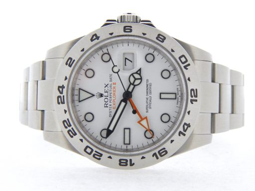 Rolex Stainless Steel Explorer II 216570 White -7