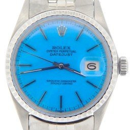 Mens Rolex Stainless Steel Datejust Blue  1603 (SKU 2024133NMT)