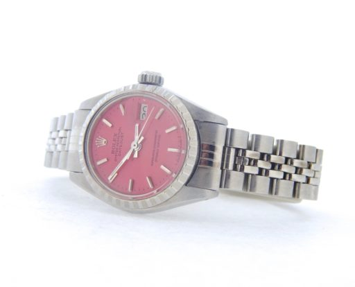 Rolex Stainless Steel Datejust 6924 Pink -6