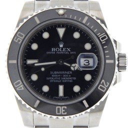Mens Rolex Stainless Steel Submariner Black 116610 (SKU)