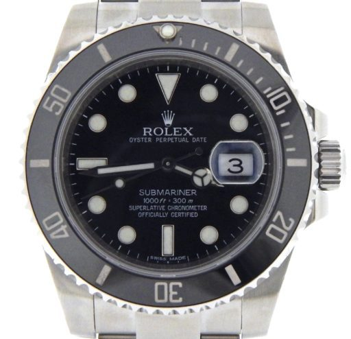 Rolex Stainless Steel Submariner 116610 Ceramic -1