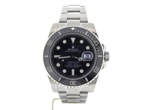 Rolex Stainless Steel Submariner 116610 Ceramic -8