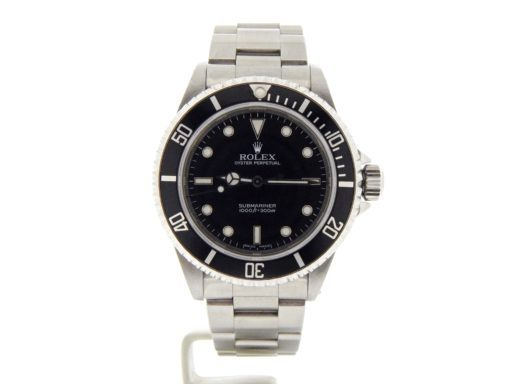 Rolex Stainless Steel Submariner 14060M Black -9
