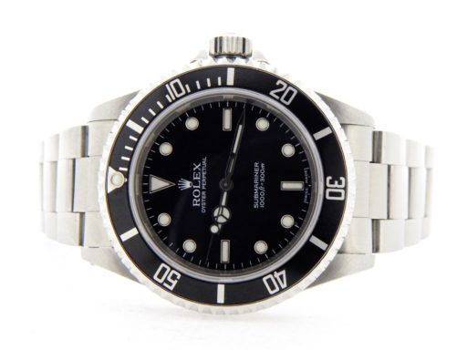Rolex Stainless Steel Submariner 14060M Black -7