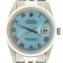 Mens Rolex Stainless Steel Datejust Blue MOP Roman 16030 (SKU 6453180MT)