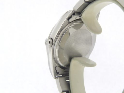Rolex Stainless Steel Air-King 14000 White MOP DIamond-2