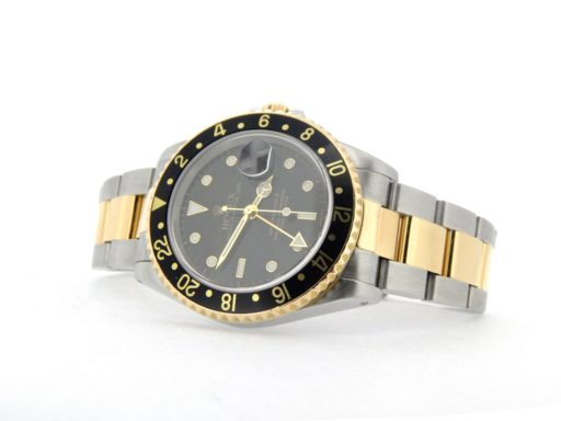 Rolex Two-Tone GMT Master II 16713 Black -6