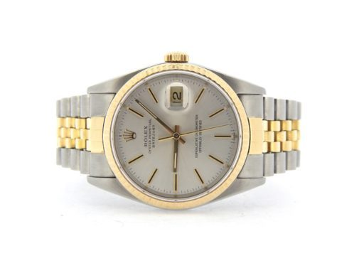 Rolex Two-Tone Datejust 16013 Silver -6
