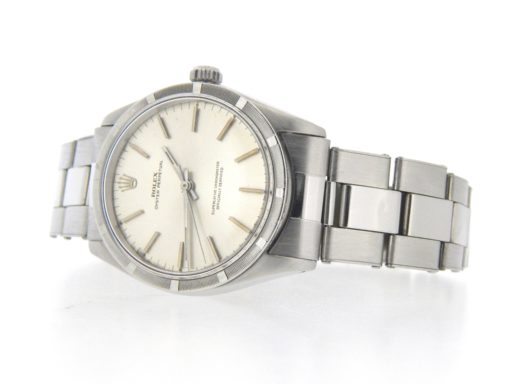 Rolex Stainless Steel Oyster Perpetual 1007 Silver -6