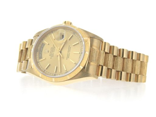 Rolex 18K Yellow Gold Day-Date President 18078 Champagne -6