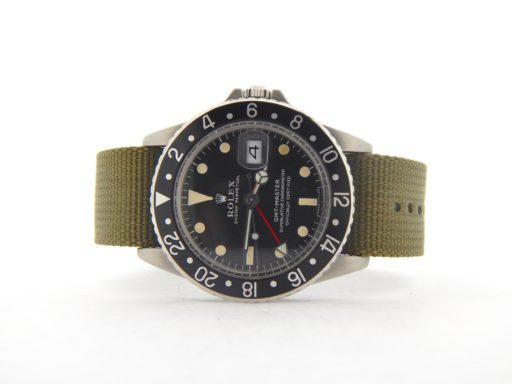 Rolex Stainless Steel GMT-Master 1675 Black -9