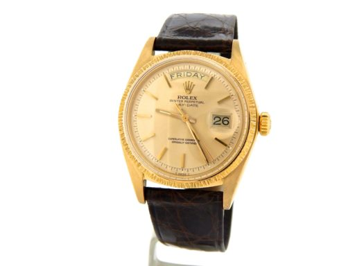Rolex 18K Yellow Gold Day-Date President 1807 Champagne -9