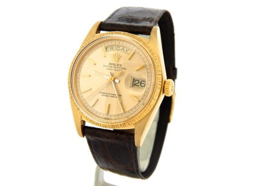 Rolex 18K Yellow Gold Day-Date President 1807 Champagne -7